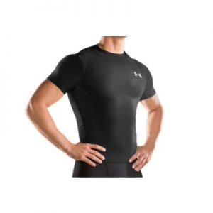 Under Armour Heat Gear Compression Short Sleeve T Shirt Mens-0