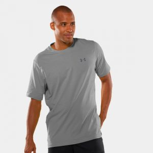 Under Armour Charged Cotton Short Sleeve T Shirt Mens-0