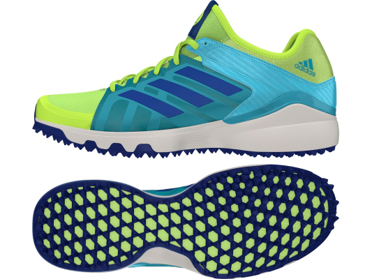 Adidas Lux shoes - Yellow/Blue-0