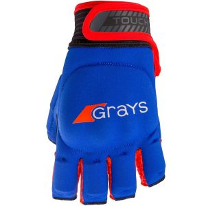 Grays 2017 Touch Glove Navy | Fluro Red