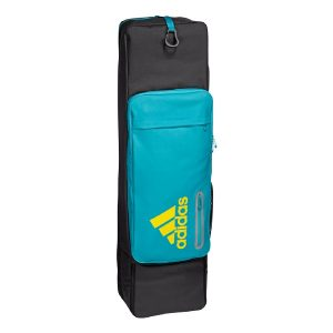 Adidas HY Large Hockey Stick Bag - Aqua Blue/Black