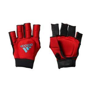 Adidas OD Hockey Gloves - Red/Blue