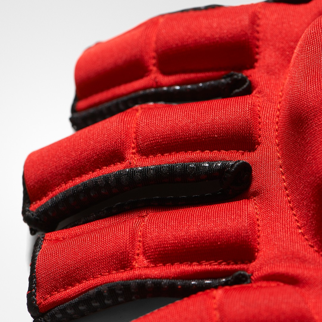 Adidas OD Hockey Gloves - Red/Blue