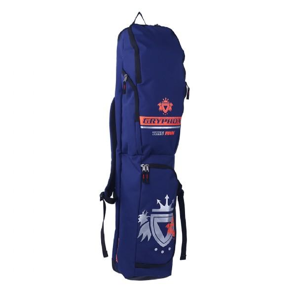 Gryphon Thin Finn Hockey Stick/Kit Bag - Navy