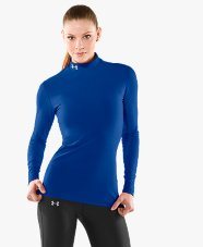 Under Armour Cold Gear Compression Mock Womens-0