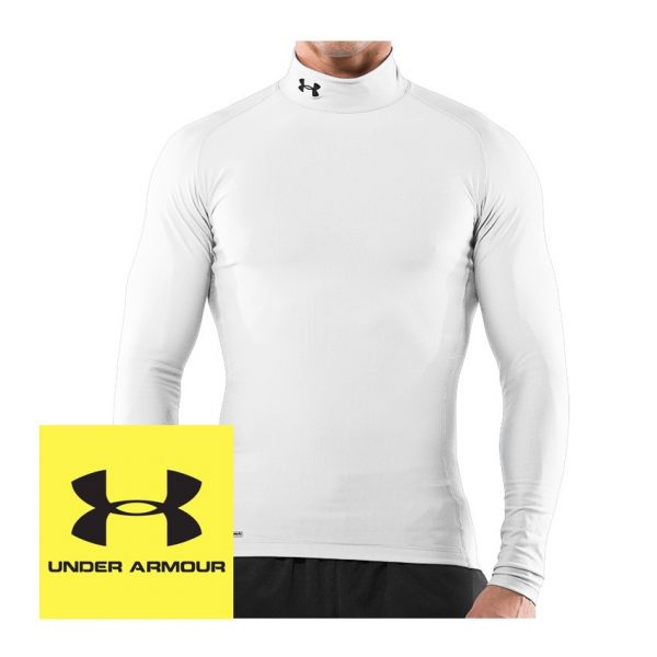 Under Armour Cold Gear Compression Long Sleeve Mock Mens-0