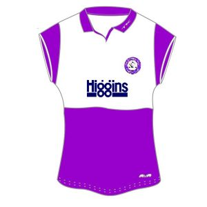 Old Loughtonians Women's open collared shirt-0