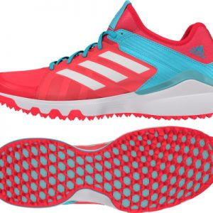 Adidas Lux W shoes - Shock Red / Vapour Blue-0