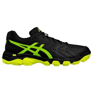 Asics Mens Gel Blackheath 6 - Black/Gecko Green-0