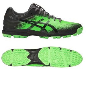 Asics Mens Gel Hockey Typhoon 3 Hockey Shoes - BLACK/BLACK/CARBON-0