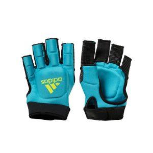 Adidas OD Hockey Gloves - Aqua/Yellow