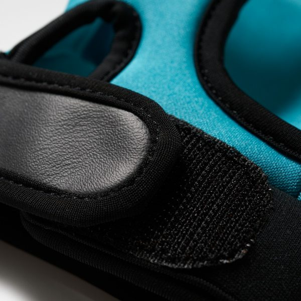 Adidas OD Hockey Gloves - Aqua/Yellow